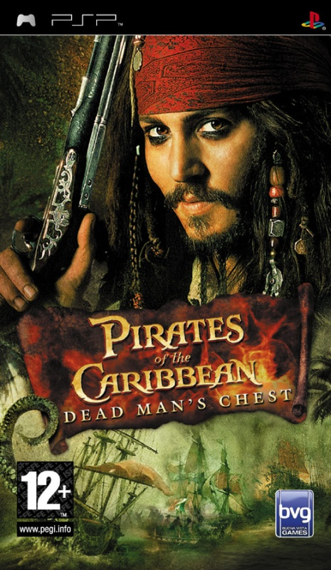 PIRATES OF THE CARIBBE2 PSP