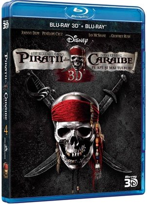 PIRATII DIN CARAIBE 4 3D (BR ) - PIRATES OF THE CARRIBEAN 4 3D (BR)