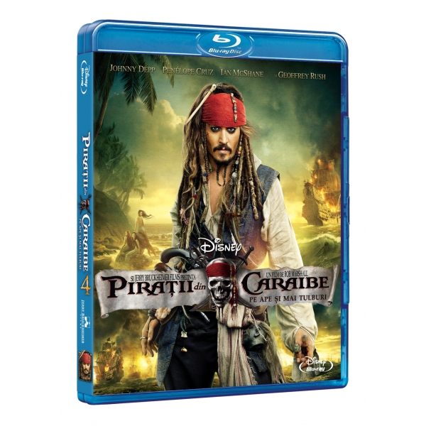 PIRATII DIN CARAIBE 4 (BR) - PIRATES OF THE CARRIBEAN 4 (BR)