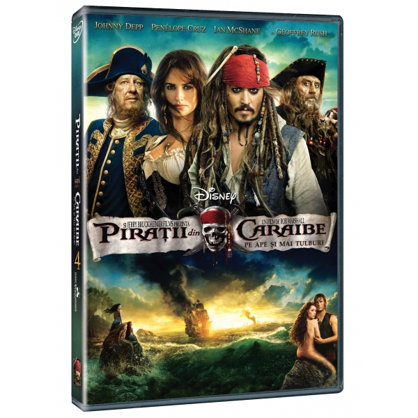 PIRATII DIN CARAIBE 4 - PIRATES OF THE CARRIBEAN 4