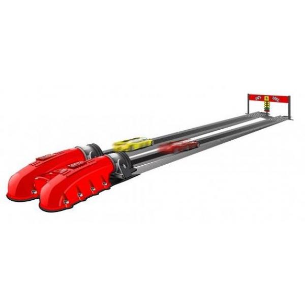 zzPista dubla cu lansator Bburago Ferrari 1:43