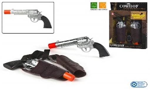 Pistol cu teaca ColorBaby,cow-boy