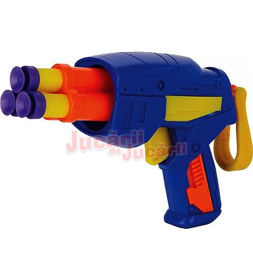Pistol Tek 3 sageti spuma