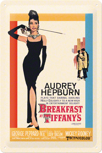 PLACA 20X30 BREAKFAST AT TIFFANYS