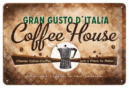 Placa 20x30 Coffee House