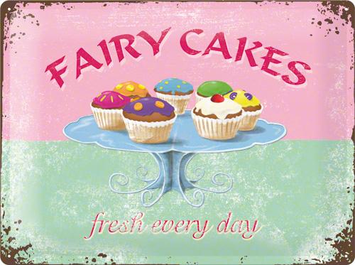 PLACA 30X40 FAIRY CAKES