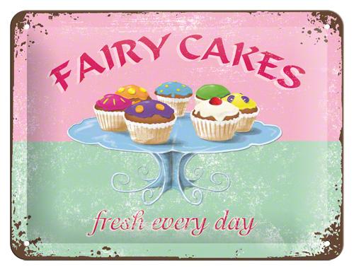 Placa 15x20 Fairy Cakes