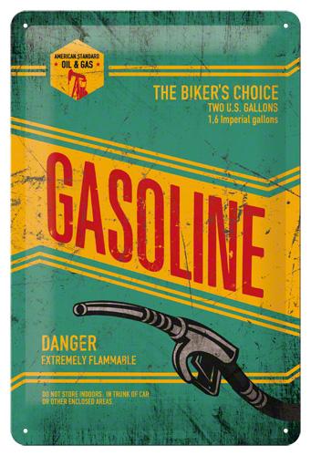 Placa 20x30 Gasoline