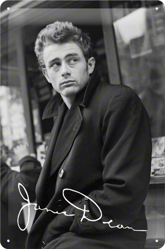 PLACA 20X30 JAMES DEAN LOOK