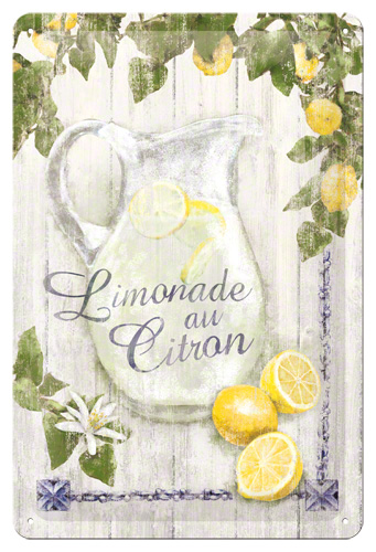 PLACA 20X30 LIMONADE AU CITRON