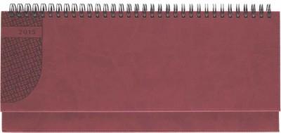 Planner 11x30cm,Kent,saptamanal,128pagini,rosu coral