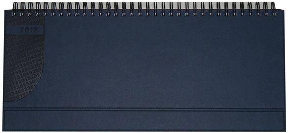 zzPlanner 10.5x29.8cm,Kent,saptamanal,128p,albastru chinezesc