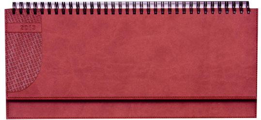 zzPlanner 10.5x29.8cm,Kent,saptamanal,128p,rosu cardinal