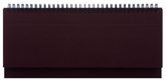 zzPlanner 10.5x29.8cm,Matra,saptamanal,128p,bordeaux