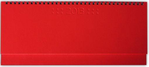 zzPlanner 10.5x29.8cm,Square,saptamanal,128p,rosu