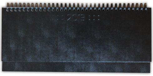 zzPlanner 10.5x29.8cm,Square,saptamanal,128p,negru