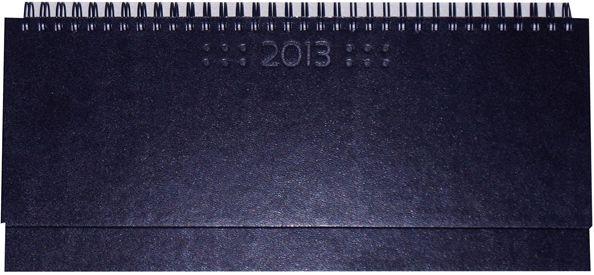 zzPlanner 10.5x29.8cm,Square,saptamanal,128p,albastru