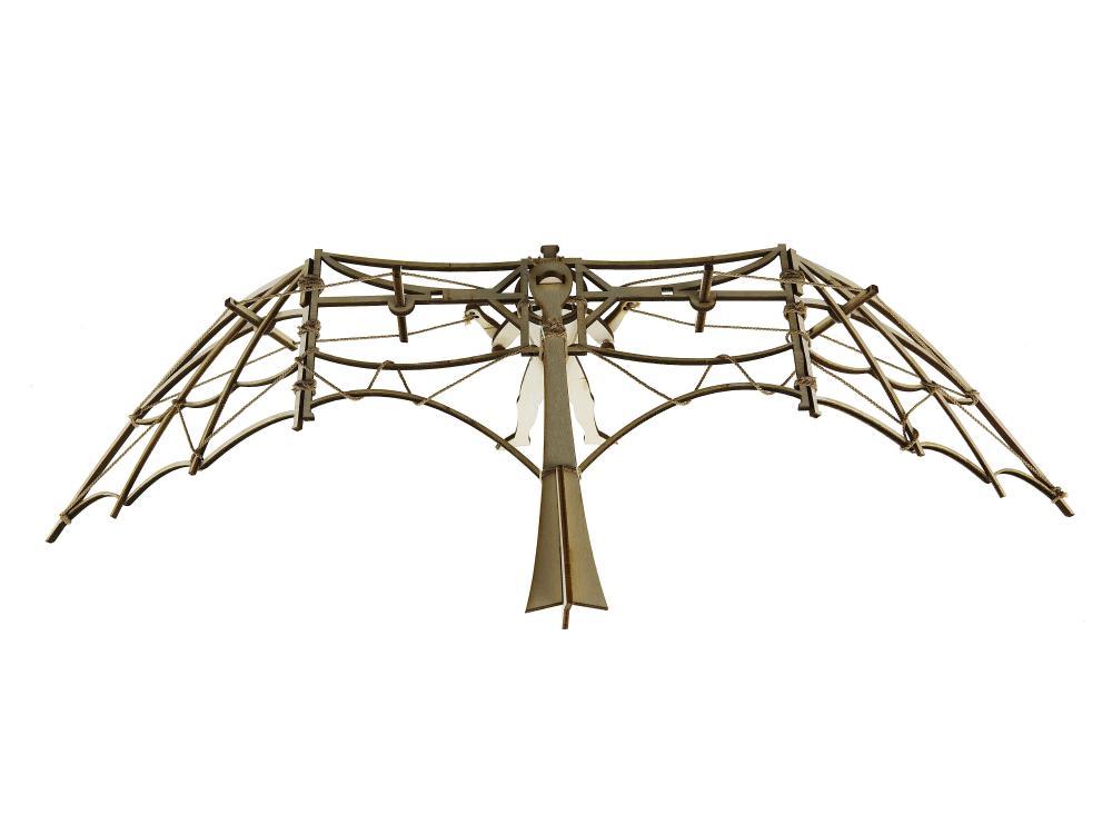 Planor lemn Leonardo da Vinci