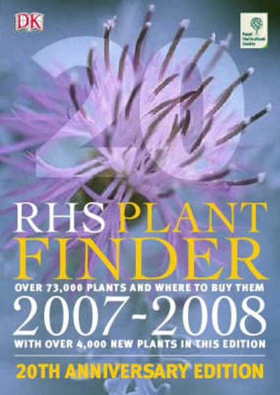 Plant finder 2007 - 2008