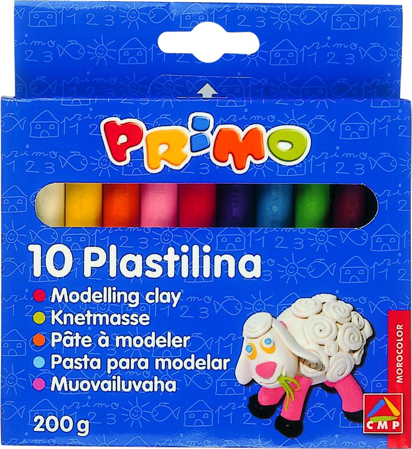 Plastilina Morocolor,200g,10culori/set