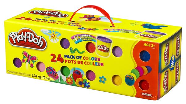 Plastilina Play-Doh,24b/set