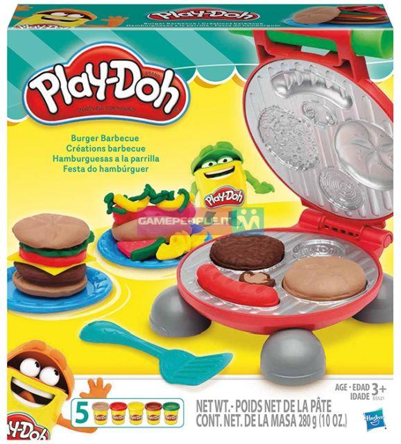 PlayDoh-Set creatie,gratarul cu burgeri