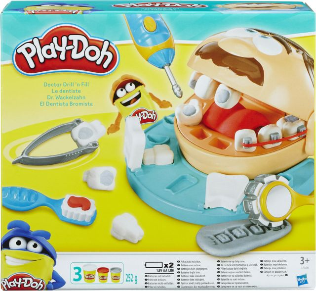 PlayDoh-Set joaca,medic stomatolog
