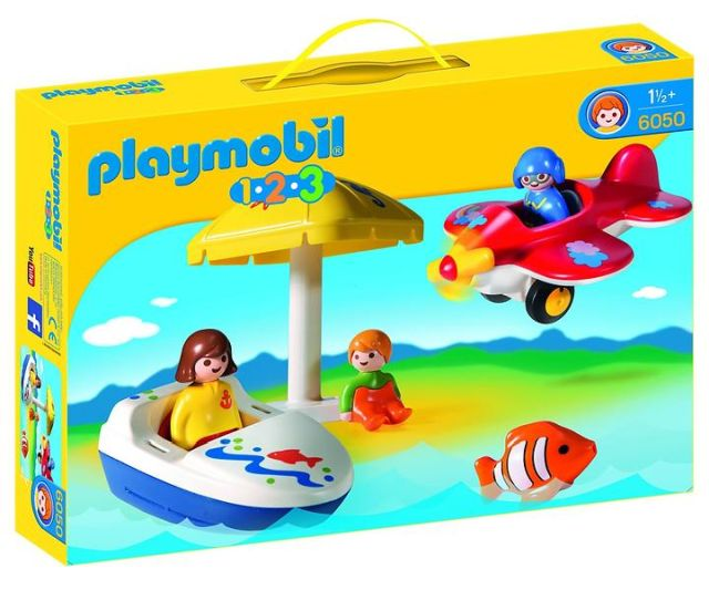 Playmobil-1.2.3. distractie la soare