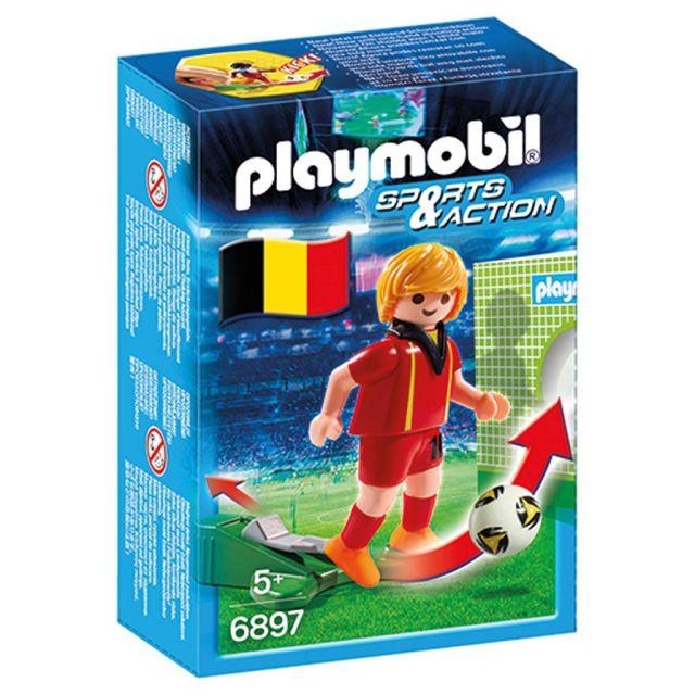 Playmobil-Jucator fotbal,Belgia,6897