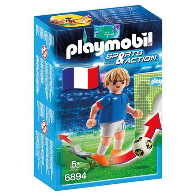 Playmobil-Jucator fotbal,Franta,6894