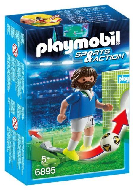 Playmobil-Jucator fotbal,Italia,6895