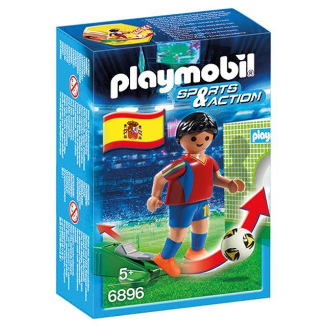 Playmobil-Jucator fotbal,Spania,6896