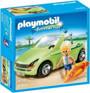 Playmobil-Masina decapotabila si surfer