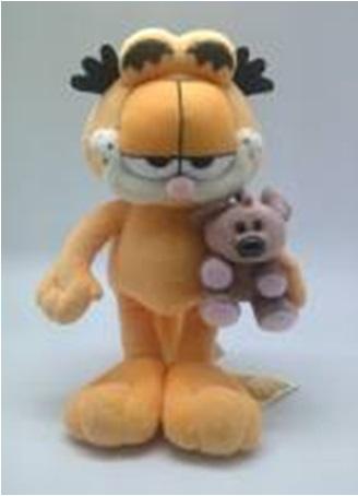 Plus Garfield cu Pooky