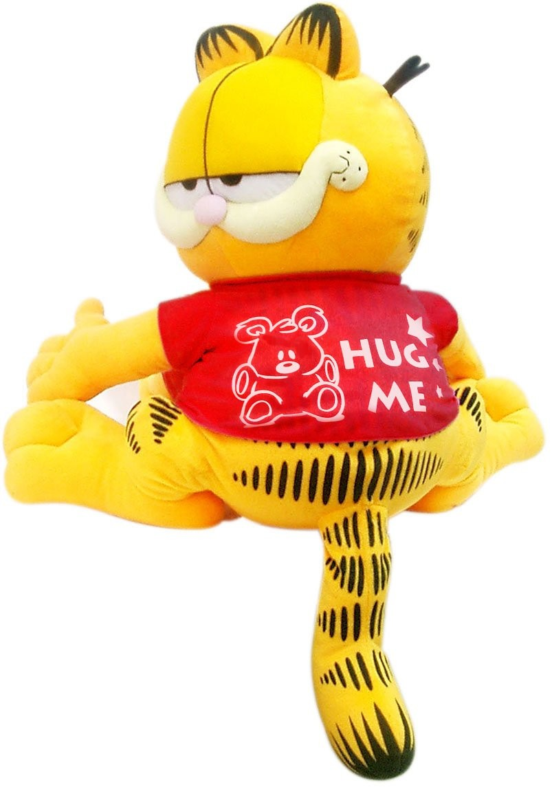 Plus Garfield,86cm, Imbratiseaza-ma