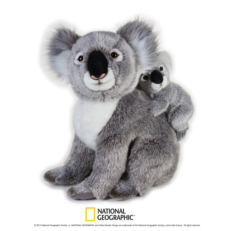 Plus NG,Koala cu pui,37cm