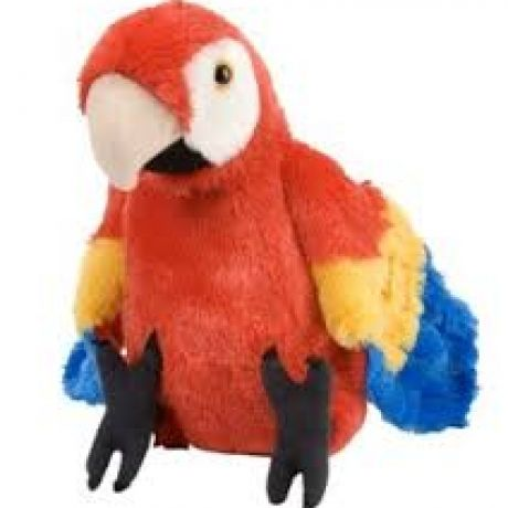 Plus Wild Republic,Papagal macaw,30cm