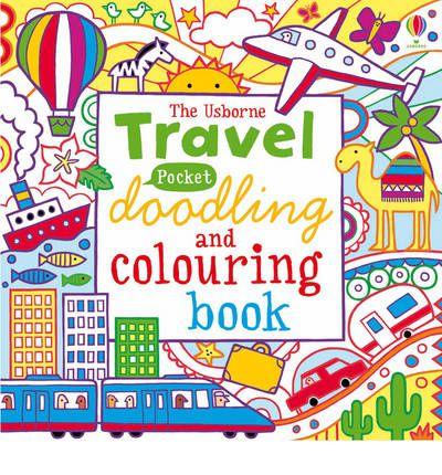 POCKET DOODLING & COLOURING: TRAVEL