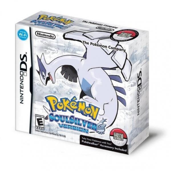 Pokemon SoulSilver + Poke Walker accessor