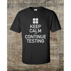 Portal 2 - Keep Calm, black,XL