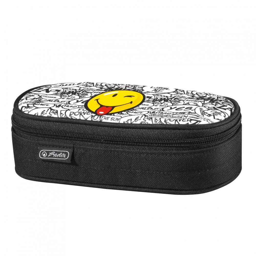 Pouch oval,Smiley World Scribble