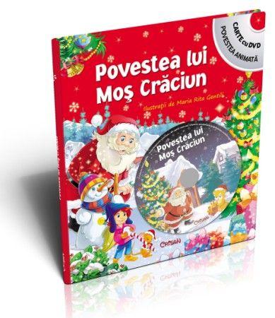 POVESTEA LUI MOS CRACIUN (CU DVD)