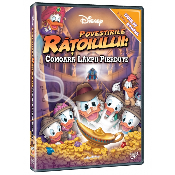 POVESTIRILE RATOIULUI: COMOARA LAMPII PIERDUTE - THE DUCKTALES MOVIE: TREASURE OF THE LOST LAMP
