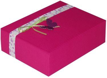 Cutie cadou Prestige M20,ciclam Floralia