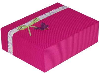 Cutie cadou Prestige M23,ciclam Floralia