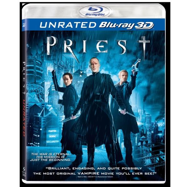 PRIEST: RAZBUNATORUL 3D (BR ) - PRIEST 3D (BR)