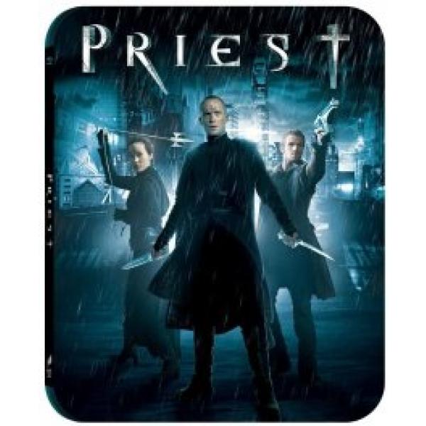 PRIEST: RAZBUNATORUL (BR 2D cutie metalica) - PRIEST steelbook (BR)