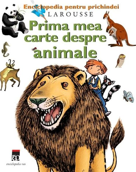 PRIMA MEA CARTE DESPRE ANIMALE - LAROUSSE