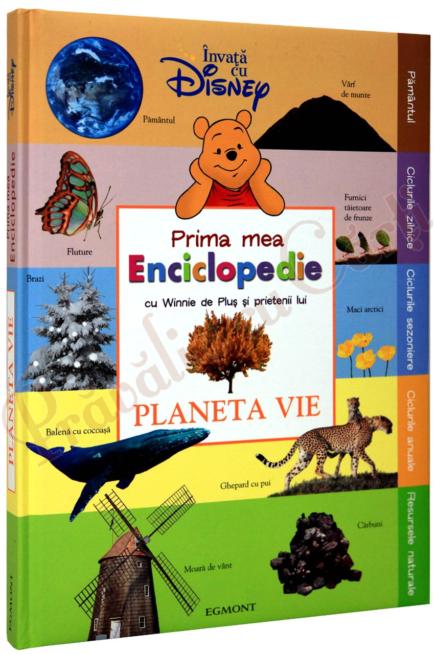 Prima mea enciclopedie cu Winnie -Planeta vie - Disney