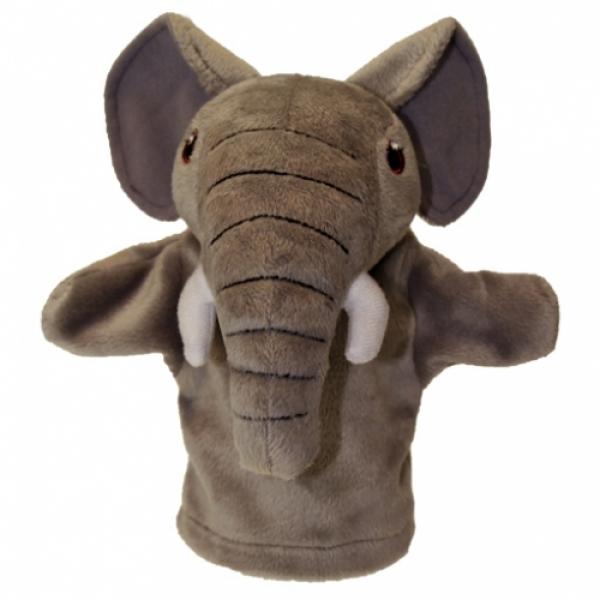 Prima mea papusa de mana Elefant